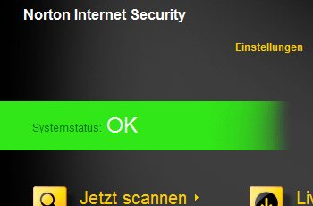 Testlauf: Norton Internet Security 2012