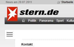 Sicherheit-Online meldet Schwachstelle bei Stern.de