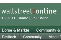 Börsenportal wallstreet:online ignoriert Hinweis