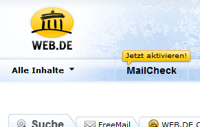 Hacker nutzen Schwachstelle bei WEB.DE