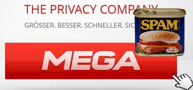 MEGA Schwachstelle – Phishing und Spam leicht gemacht