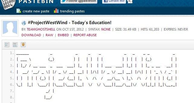 Über 50 Universitäten gehacked – Project Westwind