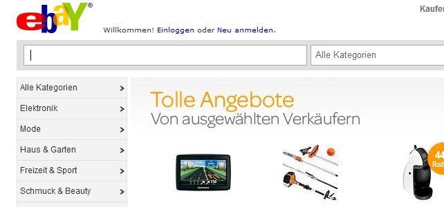 Sicherheitsproblem bei eBay erlaubt unbemerktes Phishing